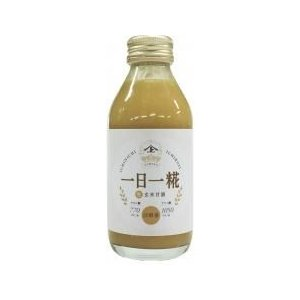 (ヤマト醤油味噌)生玄米甘酒一日一糀140ml×24本(1ケース)|ninjin