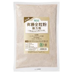 オーサワ 北米産 有機全粒粉(強力粉) 500g|ninjin