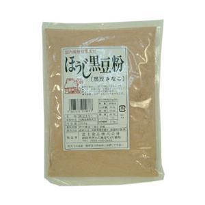 北海道産黒大豆100% !富士食品 ほうじ黒豆粉 200g|ninjin