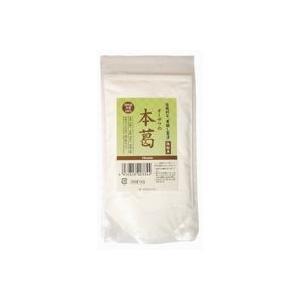本葛100%!寒晒し製法!微粉末で使いやすい!オーサワの本葛(微粉末) 小|ninjin