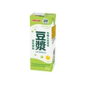 マルサン 豆漿 豆ジャン(豆乳) 200ml×24本 ninjin