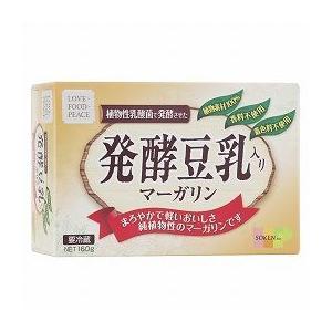 創健社 発酵豆乳入りマーガリン 160g|ninjin