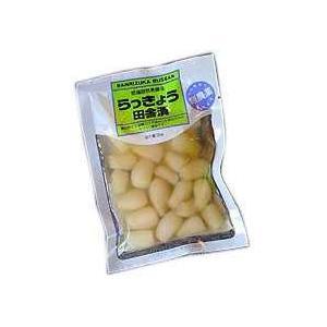 国産らっきょう田舎漬(契約栽培)100g×2袋|ninjin