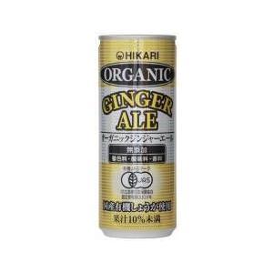 ヒカリ オーガニックジンジャーエール 1缶|ninjin