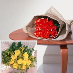 赤バラの花束 送別 卒業 プレゼント