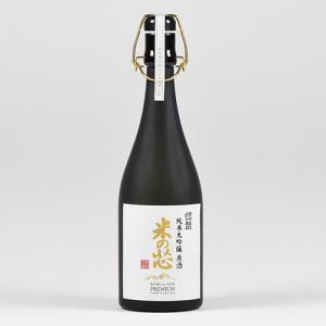 日本酒 銀盤 純米大吟醸 原酒 米の芯 720ml 桐箱入|ninsake-ginban