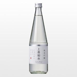 日本酒 上善如水 純米吟醸 720ml|ninsake-jozen