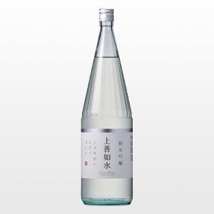 日本酒 上善如水 純米吟醸 1.8L|ninsake-jozen