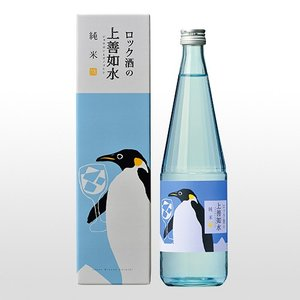 日本酒 ロック酒の上善如水 純米 720ml|ninsake-jozen