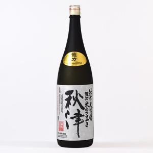 日本酒 龍力 純米大吟釀 秋津(10年貯蔵) 1.8L|ninsake-tatsuriki