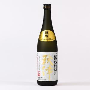 日本酒 龍力 純米大吟釀 秋津(10年貯蔵) 720ml|ninsake-tatsuriki
