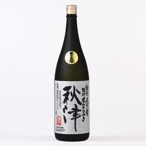 日本酒 龍力 純米大吟釀 秋津 1.8L|ninsake-tatsuriki