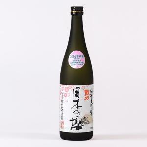 日本酒 龍力 純米大吟釀 日本の櫻 720ml|ninsake-tatsuriki