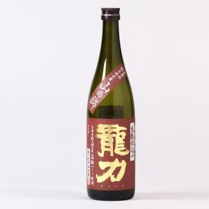 日本酒 龍力 特別純米 生もと仕込み 720ml|ninsake-tatsuriki