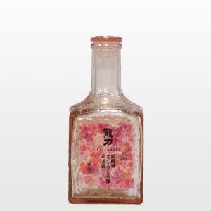 日本酒【季節数量限定】龍力「姫路城さくらこうぼのお酒」300ml|ninsake-tatsuriki