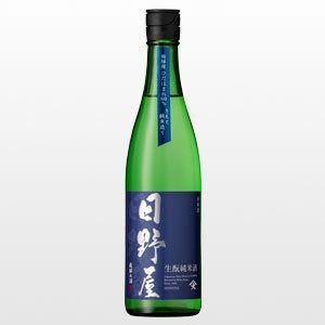 【数量限定】 日野屋 純米酒 生もと 720ml|ninsake-tenryou