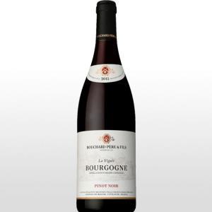 赤ワイン ブルゴーニュ ピノ ノワール ラ ヴィニェ (シンラベル) ブシャール ペール エ フィス  2015|ninsake-wine