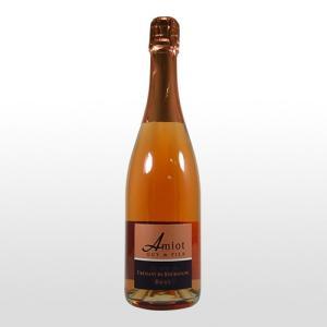 スパークリングワイン アミオ・ギイ・エ・フィス  クレマン ド ブルゴーニュ ブリュット ロゼ|ninsake-wine