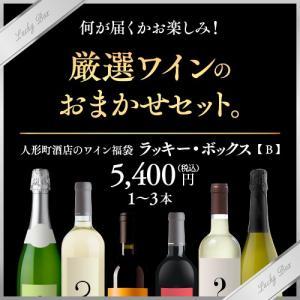 ワインセット 人形町酒店のワイン福袋 ラッキー・ボックスB|ninsake-wine