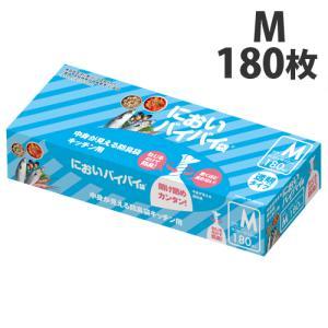 臭わない袋 中身が見える 防臭袋 においバイバイ袋 キッチン用 Mサイズ 180枚 生ごみ におわない 袋 消臭袋|nioi-byebye-shop