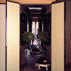創価学会仏壇SGI専門 祇園の桜 有線七宝 黒檀 仏具 付属品 LED照明付 nipodo 16