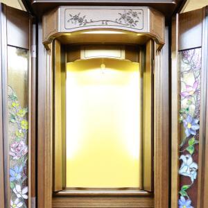 創価学会仏壇SGI専門 フォレスト ガーデン ステンドグラス ナラ 仏具 付属品付|nipodo|07