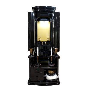 創価学会仏壇 栄 収納型 仏具 付属品 LED照明付 nipodo