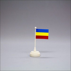 創価学会 ミニサイズで可愛い 台付三色旗 小|nipodo