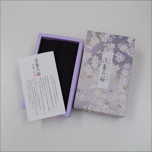 宇野千代のお線香 淡墨 の桜 バラ詰|nipodo