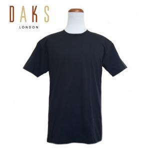 商品番号:191523blk 商品名 :DAKS クルーネック T-SHIRT【BLACK】  この...