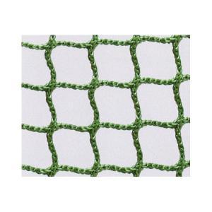 安全ネット 転落防止ネット 落下防止ネット 難燃ポリエステル 2000t/5本 目合(mm):15 グリーン  20)幅(m):5×長さ(m):6|nippon-clever