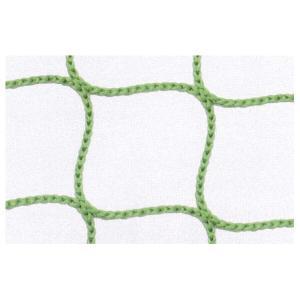 安全ネット 転落防止ネット 落下防止ネット ポリエステル 2000t/5本 目合(mm):30 グリーン  21)幅(m):6×長さ(m):6|nippon-clever