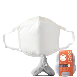 次世代マスク「bo-bi」 カロリー オーダーメイド 再利用可能タイプ マスクカバー付き ダイエットEXPO出展商品 nippon-clever
