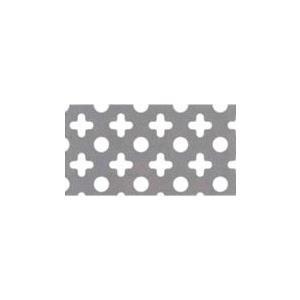 鉄 ○+パンチングメタル 05)板厚:1.6mm 幅:914mm×長さ:1829mm nippon-clever