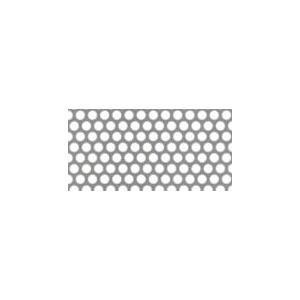 鉄 パンチング メタル  φ:3.0 板厚:0.8mm 大きさ:巾914mm×長さ1829mm (0.914×1.829m)|nippon-clever