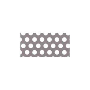 鉄 パンチング メタル  φ:5.0 板厚:0.8mm 大きさ:巾914mm×長さ1829mm (0.914×1.829m)|nippon-clever