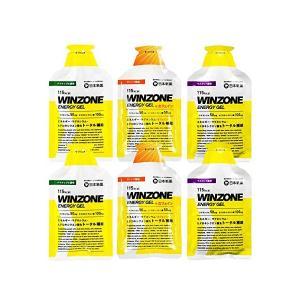 WINZONE ENERGY GEL(ウィンゾーン エナジージェル)お試し3味6袋セット(各2個)