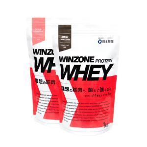 プロテイン 1kg 選べる2袋セット WINZONE PROTEIN WHEY 日本新薬 タンパク質...