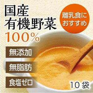 100g×3種 合計10袋 無添加・無脂肪・オーガニック 日本スープの有機野菜ポタージュ|nippon-soup