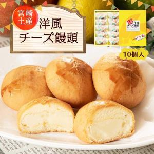 宮崎県 お取り寄せ グルメ ギフト パティスリーひろや お菓子の浩屋 洋風チーズ饅頭 10個入|nipponmarche