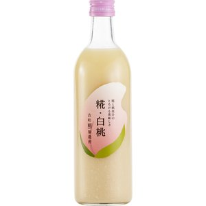 白桃 甘酒 糀 米糀 ノンアルコール  [古町糀製造所] 糀 白桃 500ml|nipponmarche