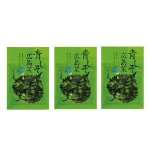 広島 漬物 漬菜 広島菜 しそ 国産  [山豊] 漬物 広島菜 青しそ 広島菜 100g×3|nipponmarche