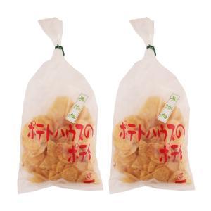 元祖厚切り 手づくり 厚切りポテトチップス 九州 福岡  [ポテトハウス] ポテトチップ (無添加磯の味) 100g×2袋|nipponmarche