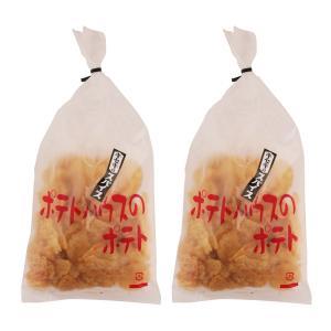 元祖厚切り 手づくり 厚切りポテトチップス 九州 福岡  [ポテトハウス] ポテトチップ (奇跡のスパイス味) 100g×2袋|nipponmarche