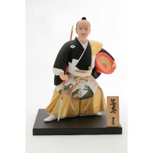 日本 侍 お祝い にんぎょう 福岡 博多 伝統 土産  [博多人形いとう] 黒田武士 G 博匠作|nipponmarche