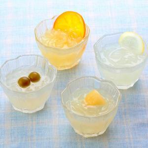 【のど越し爽やかな夏の味わい。季節限定の国産フルーツデザート。】 冷やして食べる爽やかなフルーツくず...