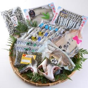 【自然豊かな漁師町で獲れた原料をこだわりの塩加減と乾燥で仕上げた、おいしい海の幸のセットです。】大分...