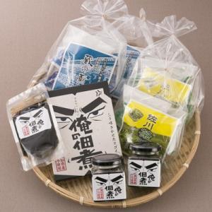 「司牡丹」純米大吟醸酒粕を皮と餡に使用したお饅頭と地元茶葉を使用したお饅頭、生産日本一の高知県産のニラをふんだんに使用したニラの佃煮のセット 送料無料|nipponselect