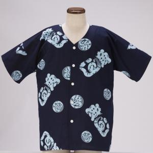 【ラベル、認定証つきの焼津魚河岸組合の魚河岸シャツです。】 油屋の魚河岸シャツは上質な綿を使い、染め...