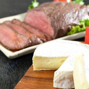 ローストビーフ ローストビーフとカマンベール セット 北海道 十勝 北海道産チーズ 詰め合わせ|産直お取り寄せニッポンセレクト